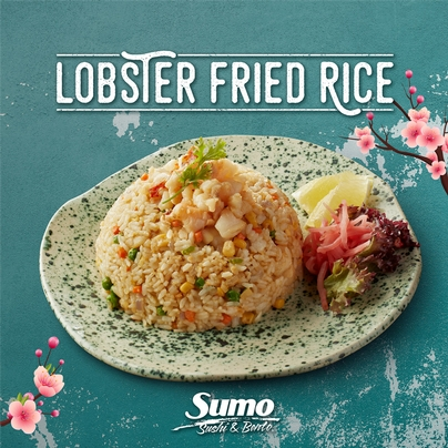 LOBSTER FRIED RICE* Special of the Month