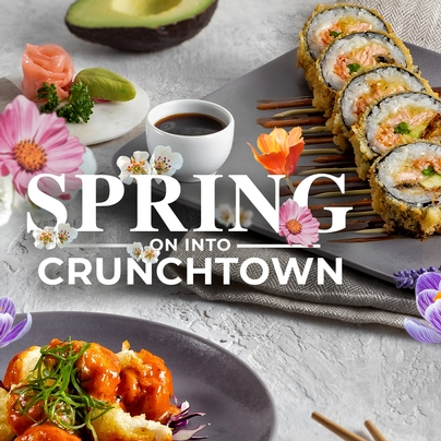 SPRING ON INTO CRUNCHTOWN April Specials